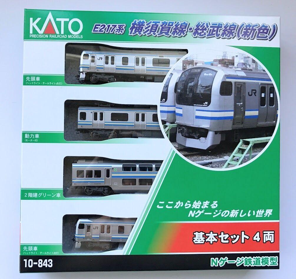 KATO N Scale 10-843 E217 Type Yokosuka Line Sobu Line New color 4 Cars