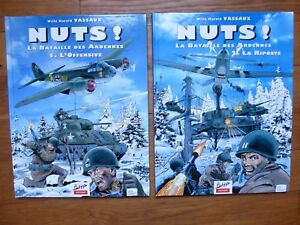 Nuts-La-bataille-des-Ardennes-2-tomes-Willy-Harold-Vassaux-BHP-Edition-1998