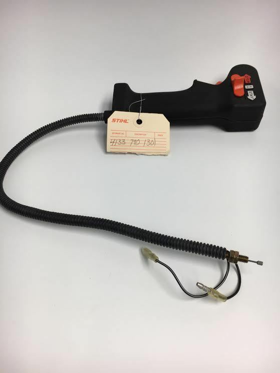 Nuevo Original Equipment Manufacturer STIHL Palanca De Control Cable Assy se ajusta FS72 FS80 HT75 FS85 4133-790-1301