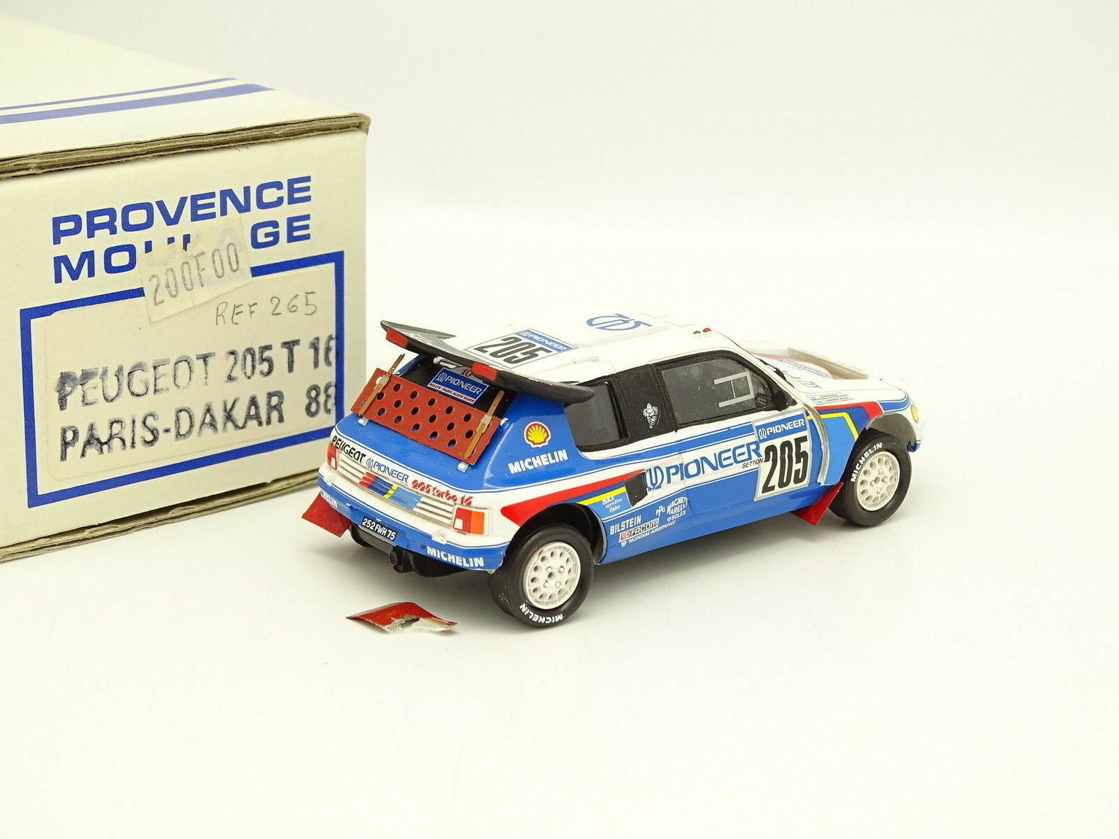 Provence Moulage Set Aufgebaut 1 43 - Peugeot Peugeot Peugeot 205 T16 Paris Dakar 1988 Kankkunen e9f23b