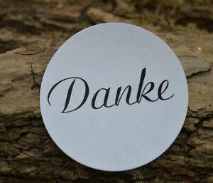 Details Zu Danke Aufkleber 3 Cm Kommunion Sticker Hochzeit Einladung Etiketten 40 Stück