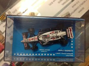 MARIO-ANDRETTI-1-64-SCALE-INDY-CAR-signed-with-Certificate-Proof