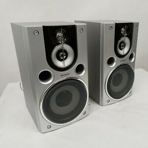 Sony Speakers Silver Gray SS-CHPX9 Wired #11084