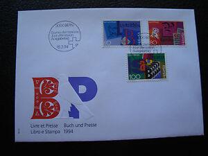 Switzerland-Envelope-1er-Day-15-3-1994-cy77-Switzerland