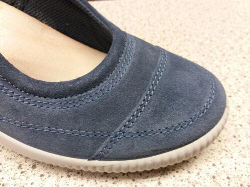 L31 Legero ®  reduziert  Top Preis Neu Spangen Ballerina Leder blau