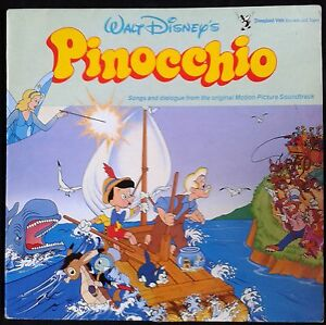 PINOCCHIO-Walt-Disney-039-s-Spain-LP-MBS-I-039-ve-Got-No-String-Criket-Theme