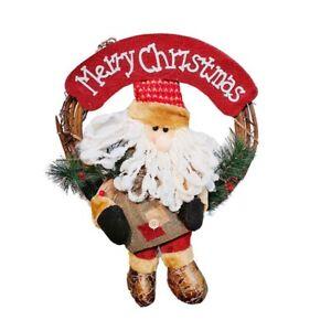 Christmas-Wreath-for-Front-Door-34cm-Door-Wreaths-Christmas-Home-Door-Hang-Q9L4
