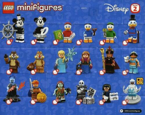 complet lego 71024 minifigures serie Disney 2-2 Minnie