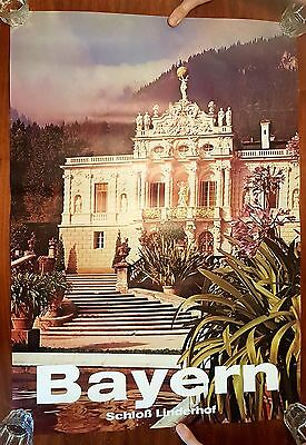 Bayreuth Opernhaus Poster Plakat Bild 70er Bavaria Bayern Germany