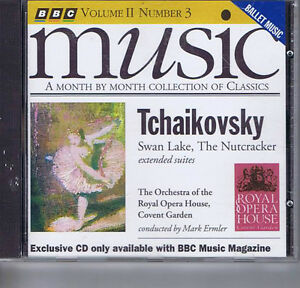 ROYAL-OPERA-HOUSE-MARK-ERMLER-Tchaikovsky-SWAN-LAKE-CD-BBC-MMM115-1993