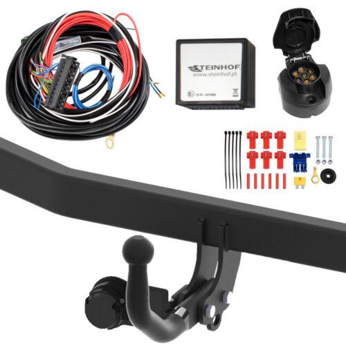 Für Hyundai i30 II GD 5-Tür Anhängerkupplung starr+ESatz 7pol ABE