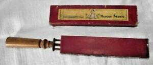 razor grinder- vintage barber- france -hairdresser