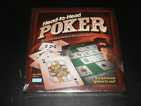 Head-to-head Poker Parker Bros., 2005 Factory Sealed