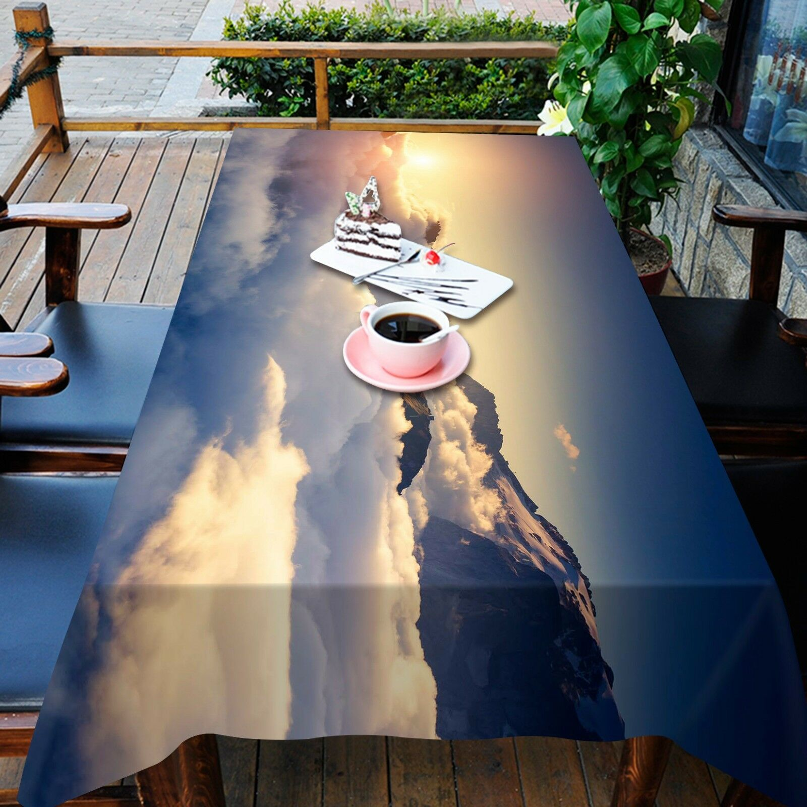 3D Clouds 89 Tablecloth Table Cover Cloth Birthday Party Event AJ WALLPAPER AU
