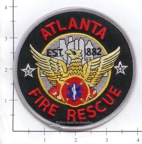 Atlanta GA Fire Rescue Dept Patch Georgia
