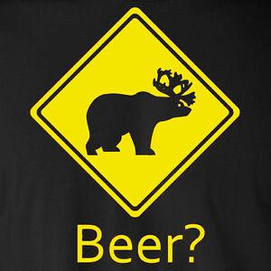 303ae2a5e Image is loading BEER-bear-deer-funny-always-sunny-philadelphia-alcohol-