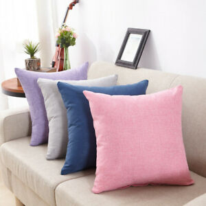 Simply-Style-Throw-Linen-Pillow-Cases-Waist-Sofa-Square-Cushion-Cover-For-Home