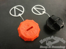 ECHO CS-370, CS-400 GAS AND OIL CAP SET NEW OEM  P021036960, P021007630