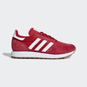 Details about adidas Forest Grove Mens Trainer Running Shoe Red Size 6.5 ,  12.5 NEW