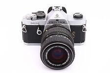 Pentax MX leggero film macchina fotografica SLR + Pentax-M 40-80mm f2.8-4 Zoom Lens