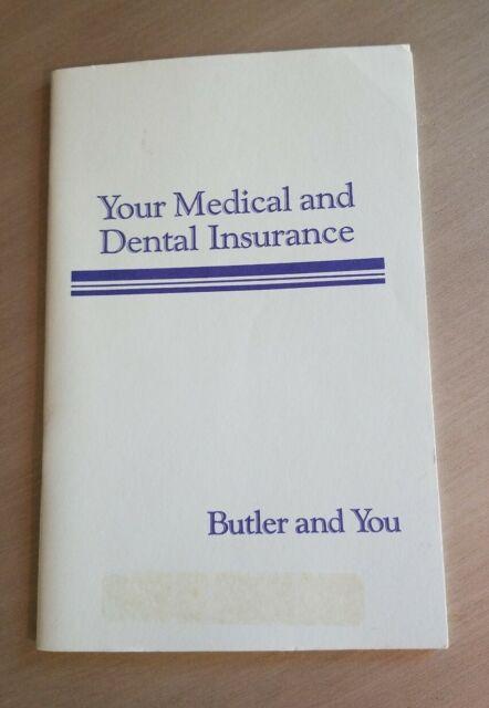 Butler Dolcis Shoe Store Medical Dental Insurance Book ...