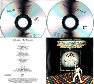 SATURDAY-NIGHT-FEVER-OST-2017-UK-21-trk-numbered-promo-test-2xCD-Bee-Gees
