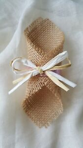 Image Is Loading Burlap Wedding Napkin Ring Wedding Table Decor Hessian