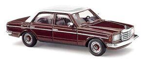 Busch-46866-Mercedes-W123-Limousine-mit-blanc-Toit-H0-Modele-de-voiture-1-87