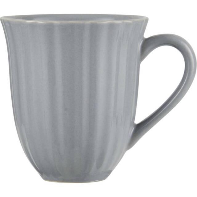 Taza de Café, Taza Francés Gris Claro Para 300ml H.10cm Loza Ib LAURSEN