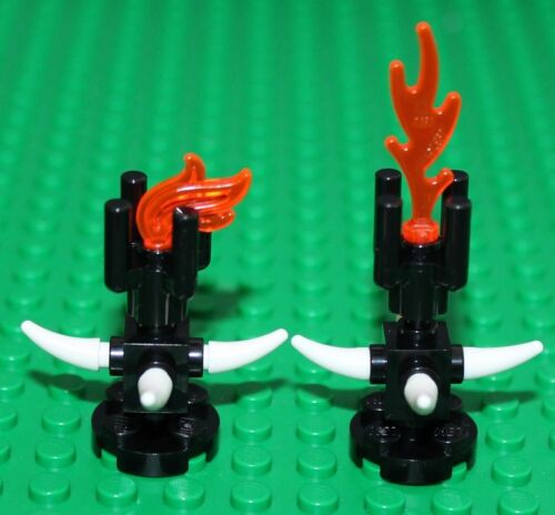 Lego 2x Castle Flames NEW