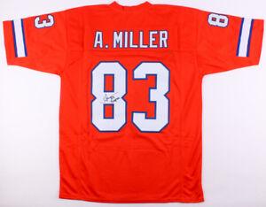 hot sale online a4420 c3702 Details about Anthony Miller Signed Broncos Jersey Inscribed