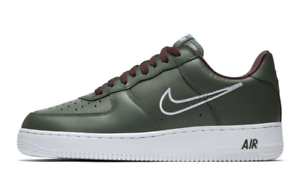 Nike Air White Chaussures 845053 1 Hong Retro Low Hommes Forest Force 300 Deep Kong WDHIE29