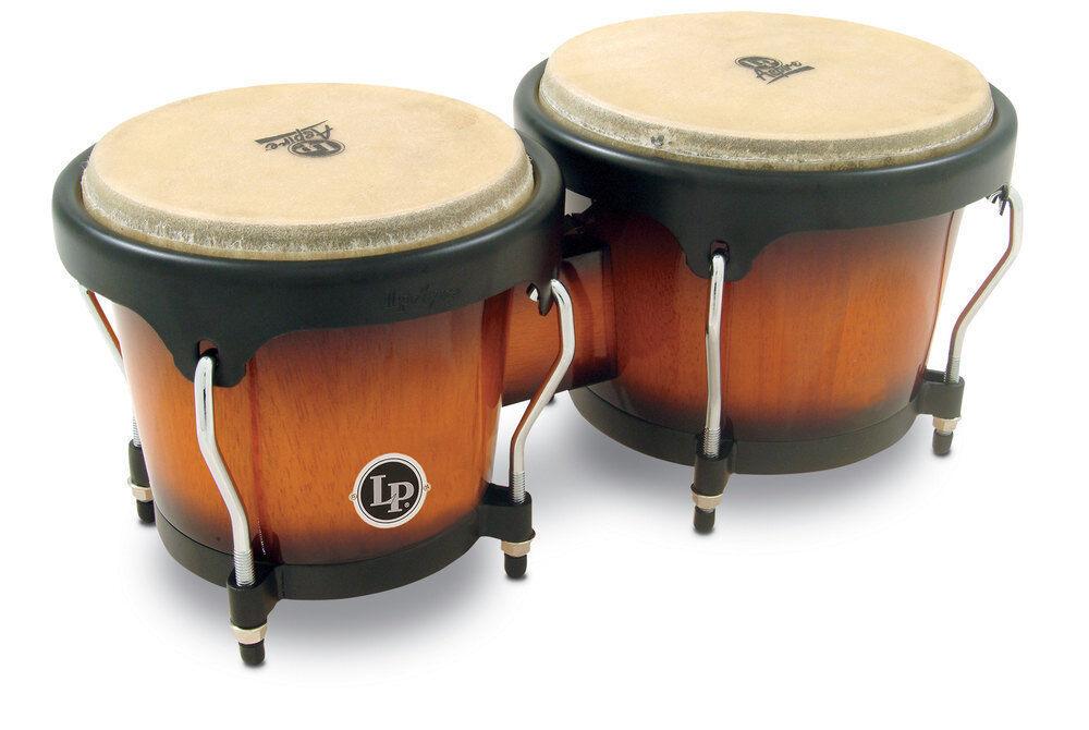 Latin Percussion Bongo Aspire Vintage Sunburst Latin Percussion