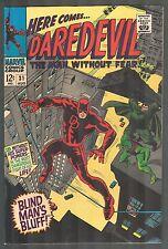 Daredevil #31 ~ Blind Man's Bluff! ~ 1967 (6.0/6.5) WH