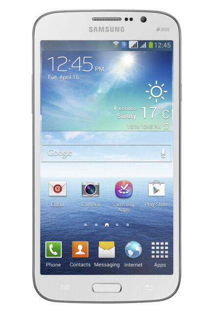 New Samsung Galaxy Mega 5.8 GT-I9152 Duos 3G (FACTORY UNLOCKED) 8GB White Phone