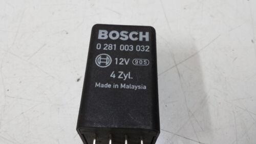 #1174 Original BOSCH,457 Glow Plug Relay 038 907 281 B 038907281B 0281003032