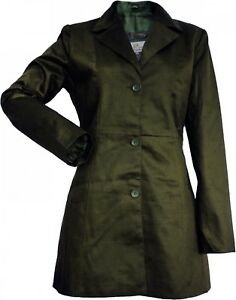 Trenchcoat Wear Aus Mantel Damen German Baumwolle Oliv B7twCBqd