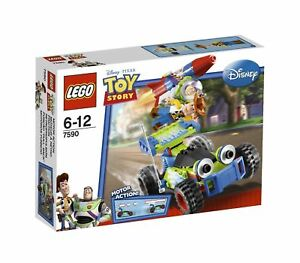 LEGO-Disney-TOY-STORY-Set-7590-Woody-and-Buzz-to-the-Rescue-Complet-100