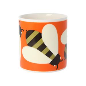 Orla-Kiely-Busy-Bee-Orange-Quite-Big-Large-China-Mug-400ml