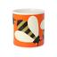 Orla-Kiely-Busy-Bee-Orange-Quite-Big-Large-China-Mug-400ml thumbnail 1
