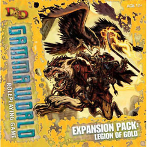 Legion of gold Expansion Box Gamma World World World Dungeons and Dragons (WOC25462) 89cdd9