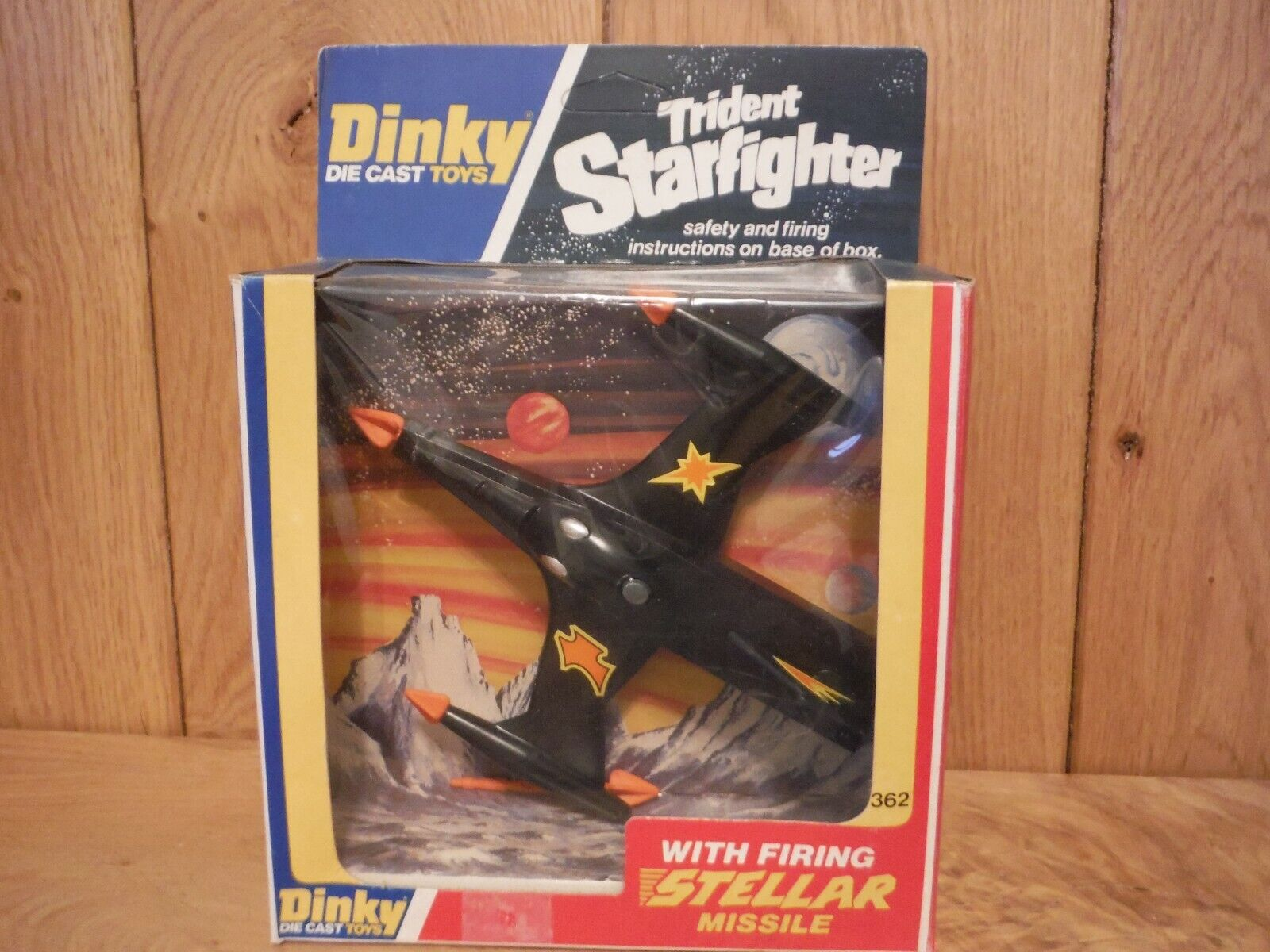 Dinky 362 TRIDENT STARFIGHTER Boxed