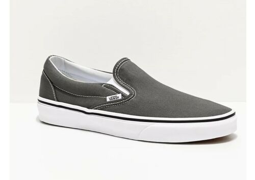 """New in Box-Vans homme /""""Classic Slip-on/"""" chaussures-Anthracite-Taille 11"""
