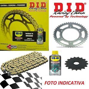 Set Übertragung DID Profi Kette+Zahnrad+Ritzel Kawasaki Z 1000 2010
