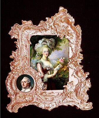 Husband of Marie Antoinette.Applique,Furniture mount.Faux ormolu. Louis-XVI