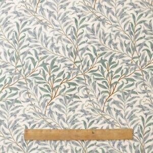 Image Is Loading William Morris Willow Bough Green 100 Cotton Fabric