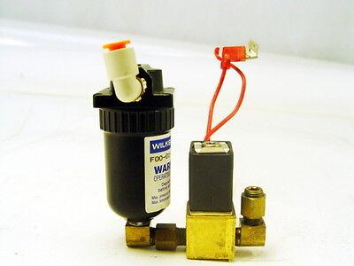 100% Waar Wilkerson F00-01-q62 Filter Unit