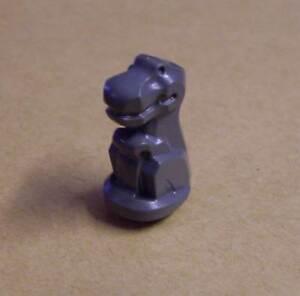 Lego kleiner Dinosaurier in neu dunkel grau