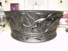 Lalique Crystal / Cristallo Jungle Bowl Black Limited Edition 10037800