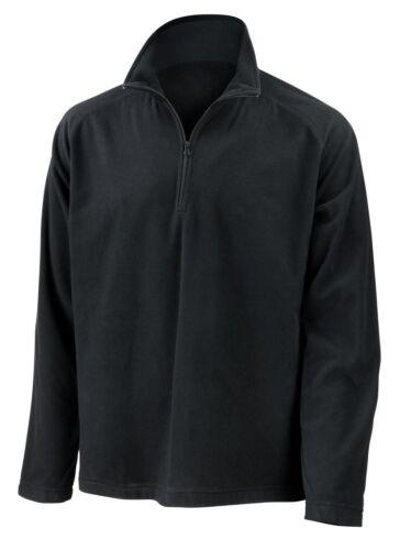 Unisex weicher micro Fleece Pullover Result RV Kragen *Mid Layer Top R112X NEU
